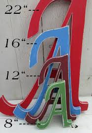 decorative wall letters distressed wood letters up to 22 inches
