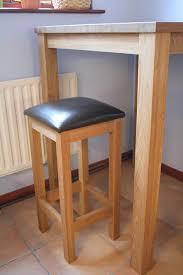 Oak Breakfast Bar Table Cool Oak Breakfast Bar Table With Kitchen Chairs Solid Oak Kitchen