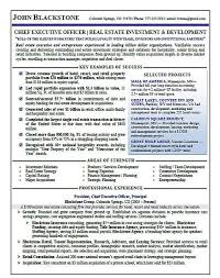 real estate resumes ceo real estate resume sle page 1 resume sles