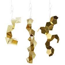 Home Accessories And Decor Metal Geometric Ornaments U2013 Crowdyhouse