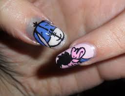 simple little eeyore nails tutorial nail art piccolo ih oh youtube