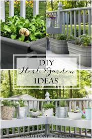 Ideas For Herb Garden Diy Container Herb Garden Ideas