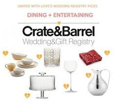 places for wedding registries bedroom and bathroom wedding registry ideas from crate barrel