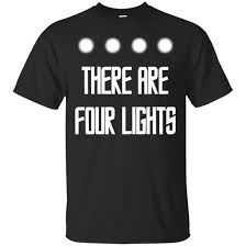 four lights there are four lights t shirt men s t shirts d20 collective
