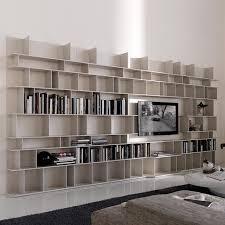 libreria tv bookcase in mdf mod wally cattelan biblioteca en mdf mod