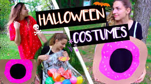 diy food halloween costumes lauren newhard youtube