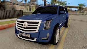 cadillac escalade 2016 cadillac escalade long platinum 2016 for gta san andreas