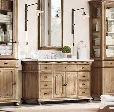 St James Armoire St James Extra Wide Single Vanity Sink Restoration Hardware