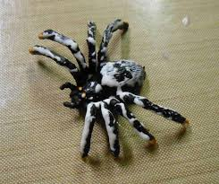 artglitterblog spooky spider ornament with kc
