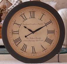large rustic wall clock wooden antique large rustic wall clock
