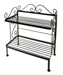 Bakers Rack Traditional Wrought Iron Bakers Rack Traditional Baker U0027s Racks