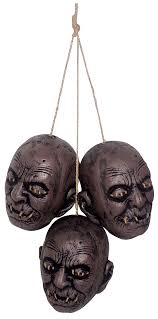 halloween string lights and netting page one halloween wikii the hanging shrunken head trio is one of the best value props