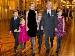 belgian royal family address subjects in for the time