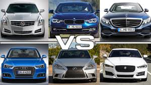 audi a4 vs lexus is350 cadillac ats vs bmw 3 ser vs mercedes c class vs audi a4 vs lexus
