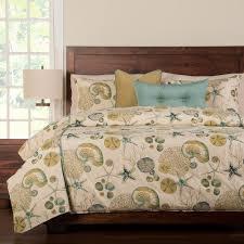 Seashell Duvet Cover Bedroom Nice Beach Theme Bedding For Beach Style Bedroom Design