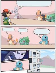 Pokemon Meme Generator - pok礬mon office suggestion blank template imgflip