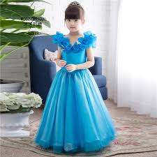 in stock flower dresses new movie cosplay costume fairy