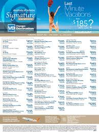 last minute all inclusive vacation deals toronto departures