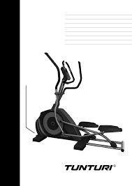 tunturi elliptical trainer c45 user guide manualsonline com
