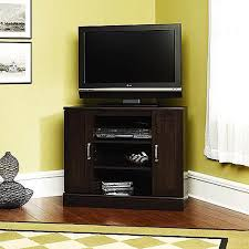 cherry corner media cabinet furniture give your media entertainment a stylish and sturdy home