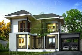 modern 2 story house plans amusing modern two story house plans gallery best inspiration