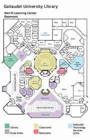 Floor Plan Library by Mlc Floor Plans U2013 Gallaudet University