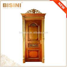 porte interieur en bois massif français style baroque en bois sculpté simples intérieur porte