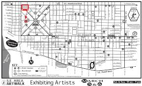 Portland Maps Com by Rainy Bay Art Se Portland Artwalk Update