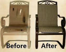 Sling Patio Chairs Sling Patio Furniture Repair In Las Vegas Henderson Southern Nevada