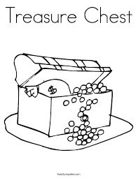 treasure chest coloring twisty noodle