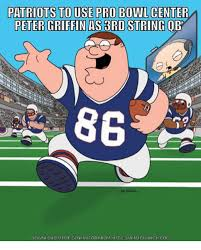 Peter Griffin Meme - patriots to use pro bowl center peter griffin as string qb 86