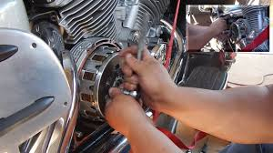 yamaha royal star venture clutch replacement youtube