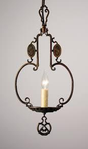 antique 1920 ceiling light fixtures amazing antique cast bronze spanish revival pendant light c 1920 s