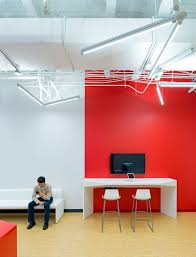 Red Office Furniture by Modern Office Furniture With Red Color Accents Of The Flash Design