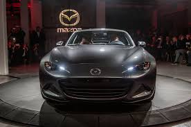 mazda america 2017 mazda mx 5 miata retractable fastback debuts automobile
