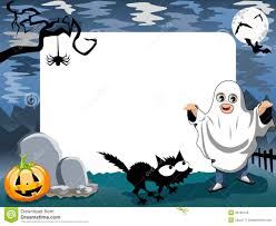 Halloween Photo Frame Phantom Royalty Free Stock Image Image