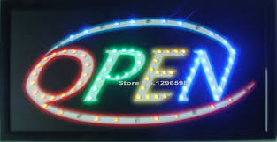 shop open sign lights 2017 led open sign bright flashing window hanging display neon light
