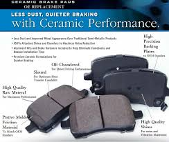 nissan altima coupe brake pads ultra premium ceramic brake pads front rear mercedes benz cls63