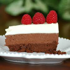 savoring time in the kitchen triple chocolate mousse cake