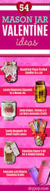 Homemade Valentines Day Ideas For Him by 54 Mason Jar Valentine Gifts And Crafts Diy Joy
