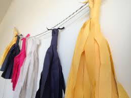 fabric tassel garland