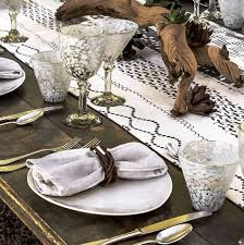 how to set a table with napkin rings vance napkin rings entertaining ec s home store