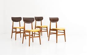 sedie svedesi ergonomiche sedie svedesi mid century in skai e velluto svezia anni 50 set di