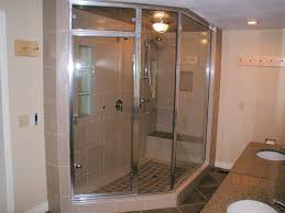 glass enclosed shower bathroom remodeling considerations for a one of our recently completed bath remodels roomy shower with glass