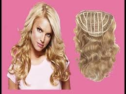 jessica simpson headband hair extensions how to hair do from jessica simpson youtube