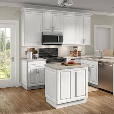 kitchen cabinet kits home depot benton assembled 30x30x12 in wall cabinet in white