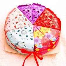 gift wrap bags wholesale 500 lot korean cake candy box triangle shape gift wrap bag