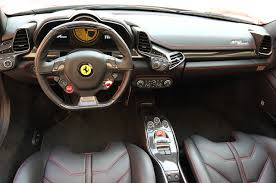 italia 458 interior 2014 458 spider for sale in fl 2014 458