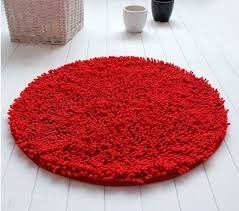 Round Red Rug Red Round Rug Amazon Com