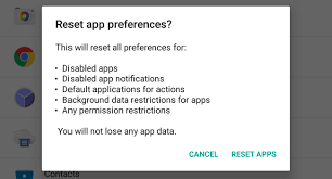 reset android to default how to easily select your default apps in android 6 0 marshmallow